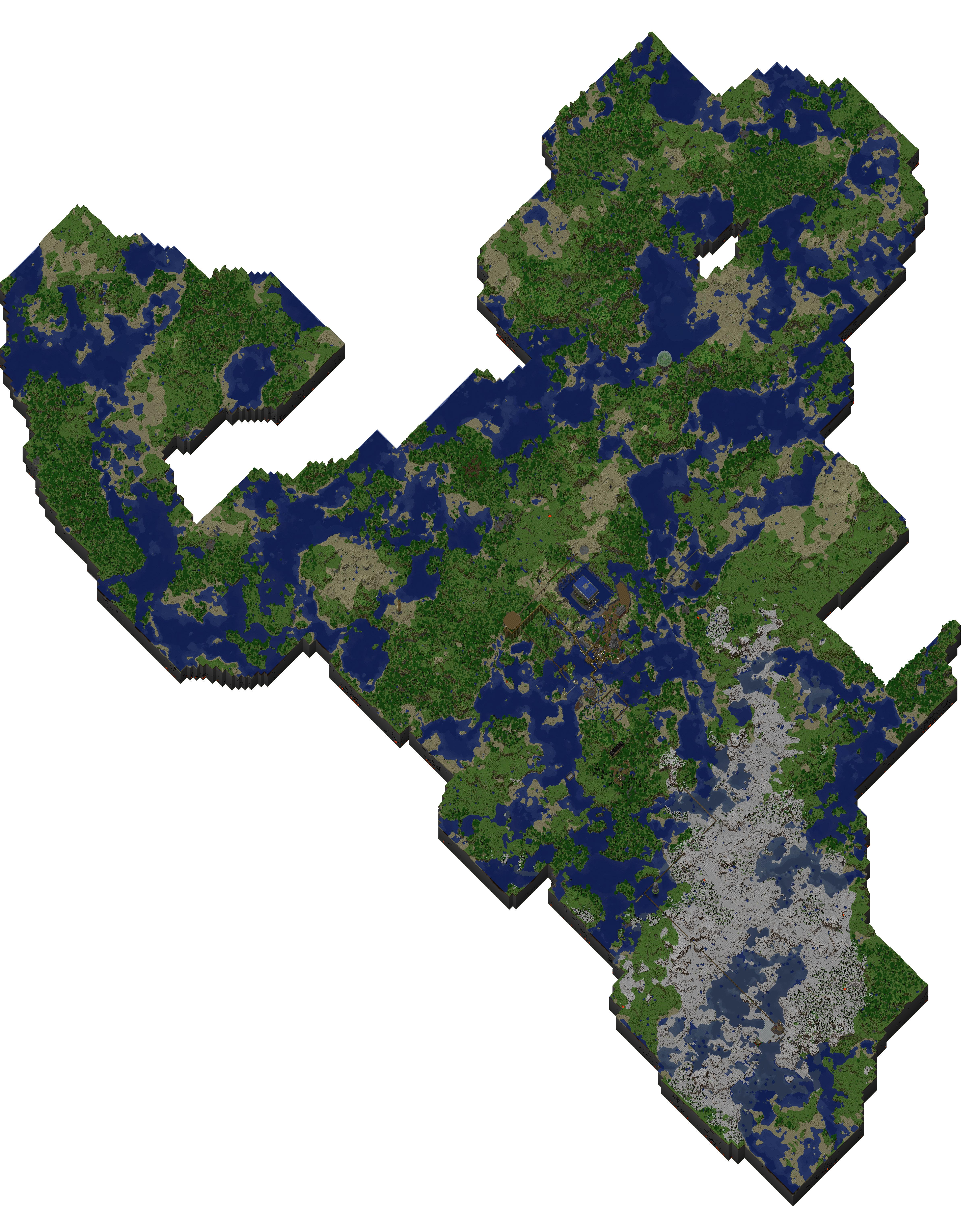 Theugcc Minecraft Jpeg Map